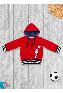 Mee Mee Full Sleeve Boys Jacket  – Red