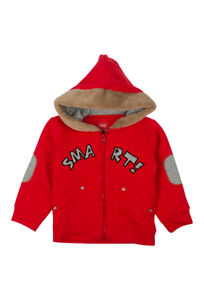 Mee Mee Full Sleeve Boys Jacket (Red)