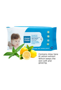 Mee Mee Caring Baby Wet Wipes with Lemon Fragrance