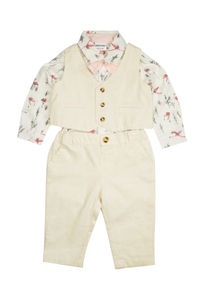 Mee Mee Kids Party Wear Blazer Set – Offwhite
