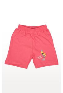 Pink Printed Shorts