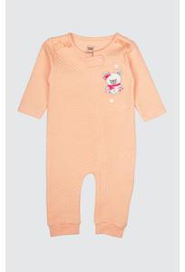 Baby Pink Printed Romper