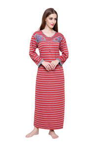 Secret Wish Women's Woolen Red Nighty