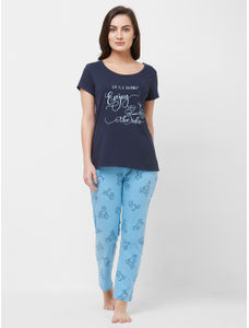 Hippo T-shirt Pyjama Set