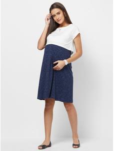 Maternity Ribbed Dress