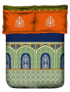 Shubmangalam Bed Cover King Size