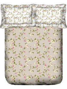 Liva Vintage Bloom Bedsheet Super King Size