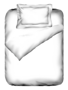 Percale Optical White Duvet Cover Single Size