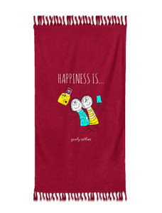 Happiness Is Towel Medium Size