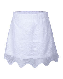 SYG WHITE GIRLS SKIRTS SK_KK 2831