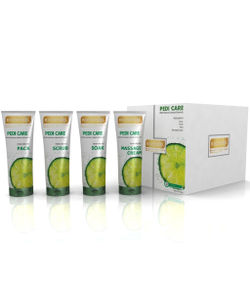 Richfeel Pedi Care with Natural Lemon Etracts 3 Appilcations 100g