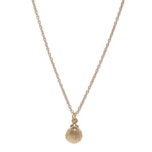 Gold-Toned Pendant with Chain
