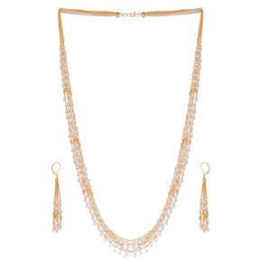 Women Gold-Toned Embellished Jewellery Set