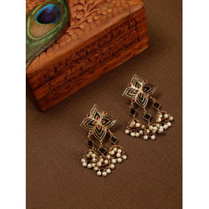 Dome Of Golden Glory Earrings
