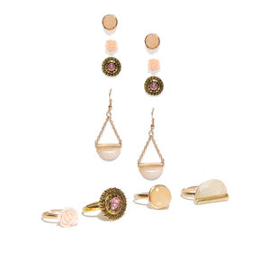 Ring And Earrings Set