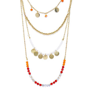 Multicolor Layered Necklace