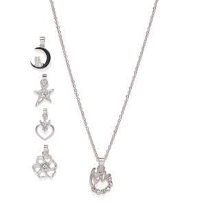 Silver Pretty Charm Necklace