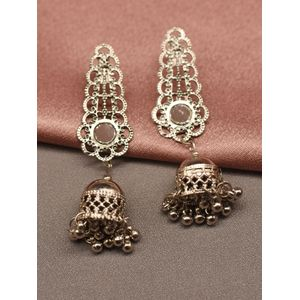 Silver Work of Art Earring
