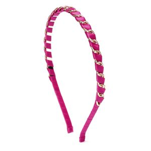 Pink & Gold Hair Band For Women