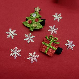 Christmas Festive Kids Hair Clips
