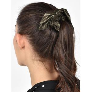 Toniq Set Of 2  Bow Hair Scrunchie Rubberband  For Women