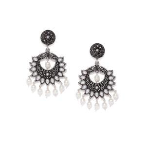 Silver Spike Earring
