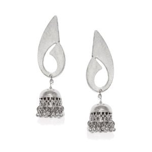 Silver Contemprory Earring