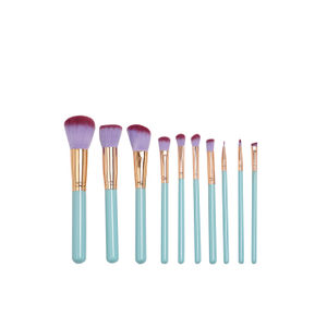 Glam Clam Set of 10 Makeup Brushes