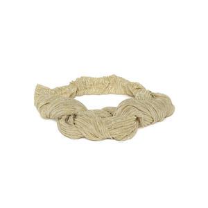 Beige Shimmery Hairband