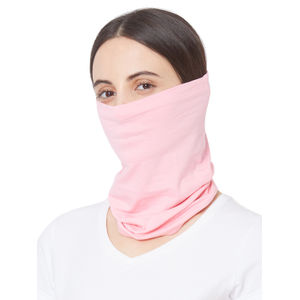 Reusable Fashion Multipurpose Solid Adult Women's Neck Gaiter-Set of 2