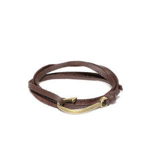 Brown Hook Bracelet