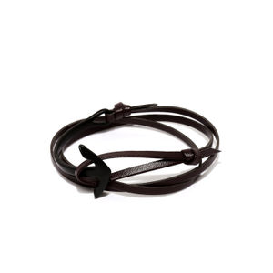 Brown Anchor Bracelet