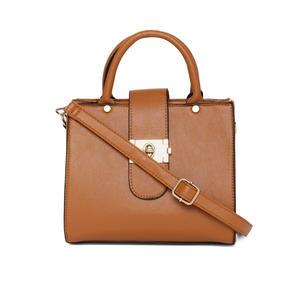 Caramel Buckle Up A-Line Bag