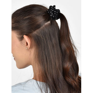 Toniq Set Of 2 Georgette Printed Hair Scrunchie For Women
