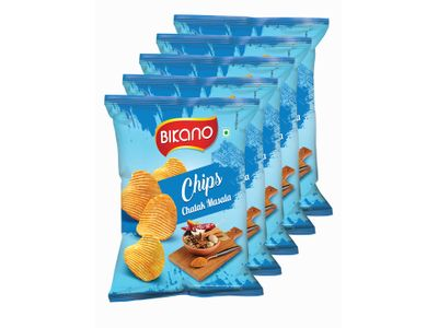 Bikano Chips Chatak Masala 60 gm (Pack of 5)