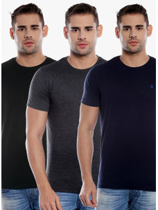 T-Shirts(Combo Pack of 3 T-Shirts)