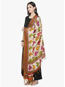 Varanga Multicolored Bhagalpuri Dupatta