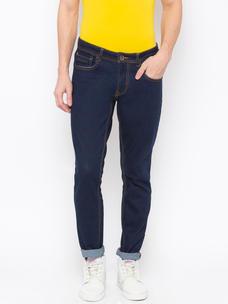 Men's Dark Blue Skinny fit Jeans