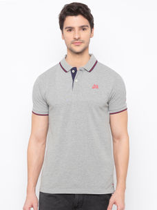 Mens Short Sleeve Polo Neck with HD Print