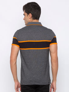 Mens Short Sleeve polo Neck with Emb Badge