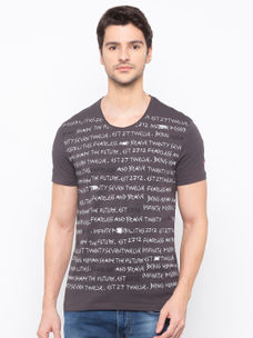 mens short sleeve printed tshirt