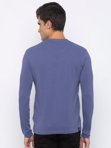 Mens long sleeve tshirt with double HD print