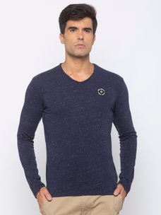 Mens Long Sleeve Crew Neck T-shirt
