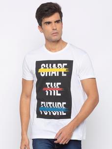 Mens short sleeve tshirt with print