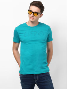 GREEN SOLID T-SHIRT