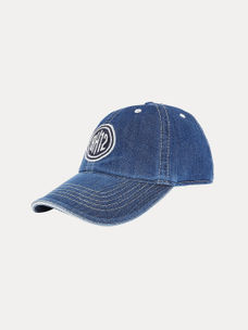 a837538f576 BLUE PRINTED BASEBALL CAP