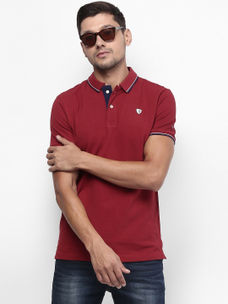 d33770f6f95 BRICK SOLID POLO T-SHIRT