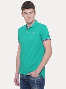 GOLF GREEN SOLID T-SHIRT