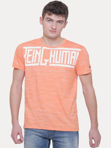 ORANGE MELANGE T-SHIRT