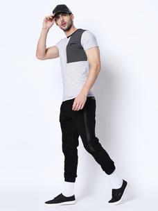 Disrupt White Cotton T-Shirt